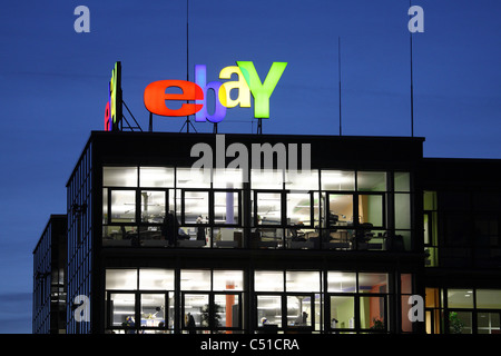 Ebay center in Europarc Dreilinden, Kleinmachnow, Germany - Stock Photo