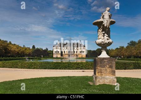 In The Large Garden Palace Dresden Palais Im Grossen Garten Stock Photo Alamy