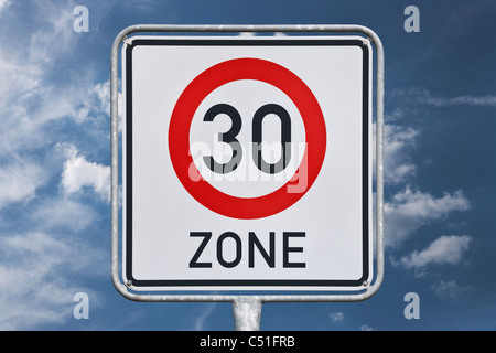 Verkehrszeichen | road sign - Stock Photo