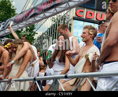 Christopher Street Day Parade 2011, Berlin, Germany - Stock Photo
