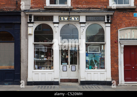 Sweny's Chemist Shop (1847), Where Leopold Bloom bought his soap in 'Ulysses' - and now a Museum, Westland Row, - Stock Photo