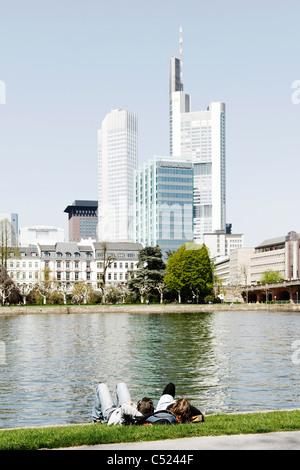 Frankfurt am Main, Hesse, Germany, Europe, Hessen, Deutschland - Stock Photo