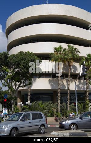 Asia House Chaim Weitzman street Tel Aviv Israel - Stock Photo