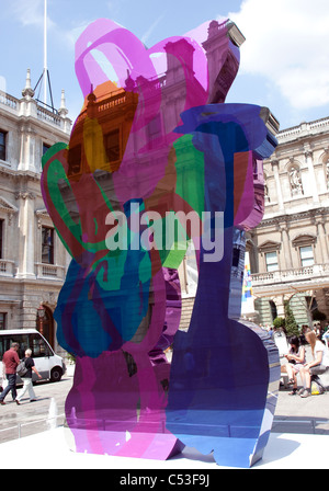 Jeff Koons Coloring Book sculpture summer 2011 Royal Academy of Arts ...