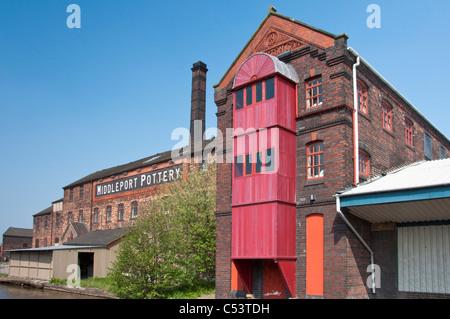 Middleport Pottery, Stoke on Trent, Staffordshire. UK - Stock Photo