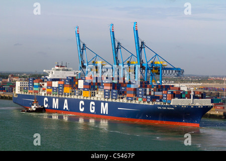 Container terminal cranes at the port of zeebrugge belgium stock photo royalty free image - Where is zeebrugge ferry port ...