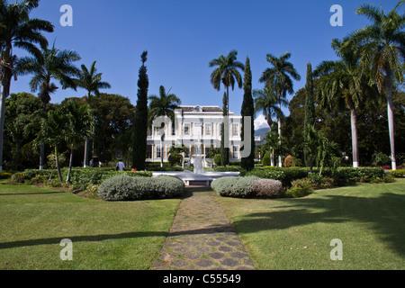 the Devon house in Kingston Jamaica - Stock Photo