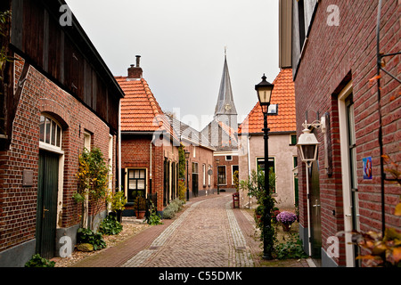 The Netherlands, Bredevoort, Centre of historical village. - Stock Photo