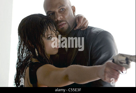 SMOKIN'  ACES 2006 Universal Pictures film with Alicia Keys and Common - Stock Photo