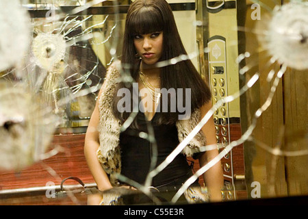 SMOKIN'  ACES 2006 Universal Pictures film with Alicia Keys - Stock Photo