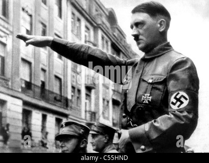 ADOLF HITLER FUHRER OF GERMANY NAZI LEADER 01 September 1938 - Stock Photo