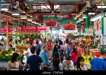Jean talon market march jean talon in montreal canada for Meubles montreal jean talon