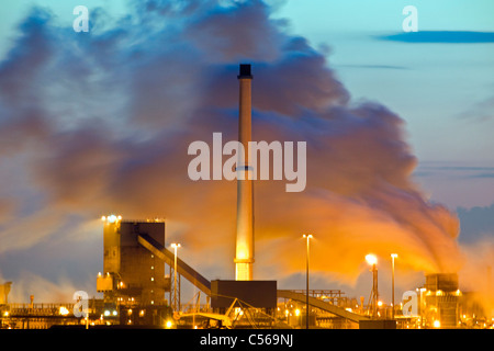 Environment Pollution Smoke Factory Chimney Industry Sky
