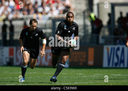Rugby World Cup 2007 New Zealand v Portugal Stade de Gerland / Lyon/ France 15.09.07 - Stock Photo