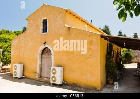 Monastery of Panagia Anafonitria, Volimes, Zakinthos - Stock Photo