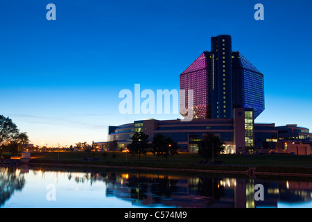 National Library of Belarus, Minsk, Belarus - Stock Photo