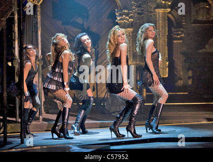NINE 2009 Weinstein Company film with Kate Hudson second from right - Stock Photo