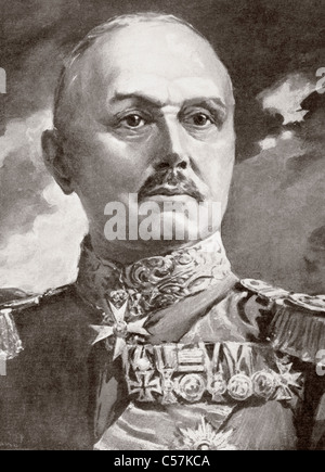 Alexander Heinrich Rudolph von Kluck, 1846 – 1934. German general during World War I. - Stock Photo