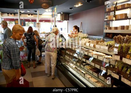 rocky mountain chocolate factory store in niagara-on-the-lake ontario canada - Stock Photo