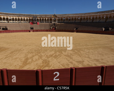 The bullring in Seville, Spain. - Stock Photo