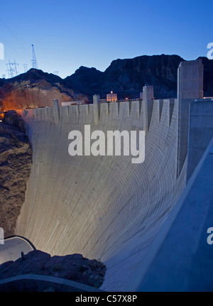 Boulder City, Nevada - The Hoover Dam. - Stock Photo
