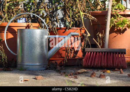 Sweet Broom And Flower Pots Stock Photo Royalty Free Image   With Entrancing  Garden Still Life With Tomatoe Plants Ewer And Broom In Late Summer   Stock Photo With Archaic Rococo Gardens Painswick Opening Times Also Garden Furniture World In Addition Garden Market And Hilton Birmingham Garden Inn As Well As Garden Centres Near Sheffield Additionally Pavillion Garden Centre From Alamycom With   Entrancing Broom And Flower Pots Stock Photo Royalty Free Image   With Archaic  Garden Still Life With Tomatoe Plants Ewer And Broom In Late Summer   Stock Photo And Sweet Rococo Gardens Painswick Opening Times Also Garden Furniture World In Addition Garden Market From Alamycom