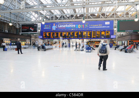 Glasgow Central Station - Stock Photo