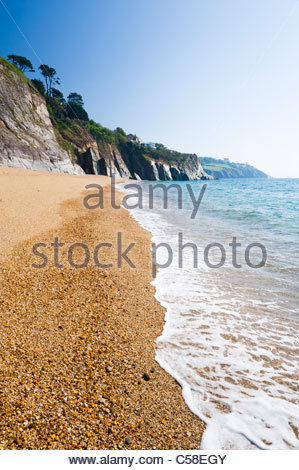 Landcombe Cove, near Dartmouth, South Hams district, Devon, England. - Stock Photo