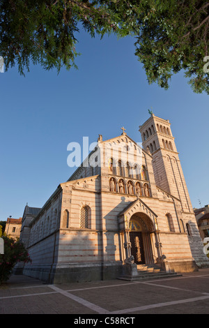 The Church of Our Lady of the Sea, Pula, Croatia. Built between 1891-1898. - Stock Photo