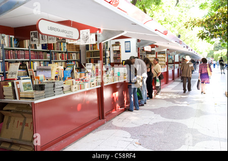 Madrid spain europe spanish recoletos salamanca calle de for Calle el jardin