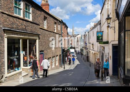 England Durham England City Of Durham Saddler Street A Steep Street