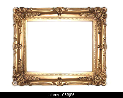 ornate picture frame - Stock Photo