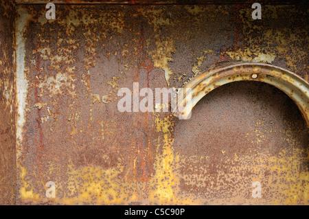 Rusty wall background - Stock Photo