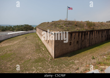 Fort Barrancas Is A United States Historic Site In Pensacola Stock - Is florida part of the united states