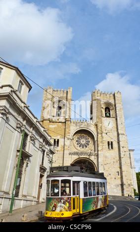 Lisbon Cathedral (Sé de Lisboa) - Lisbon, Portugal - Stock Photo