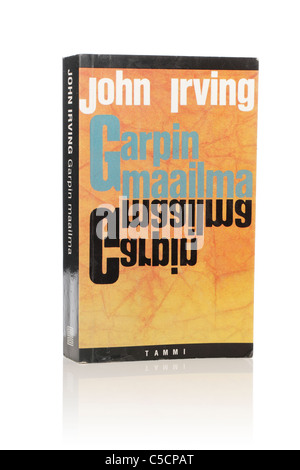 John Irving's Novel 'The World According to Garp'. Here in Finnish edition from 1997. - Stock Photo