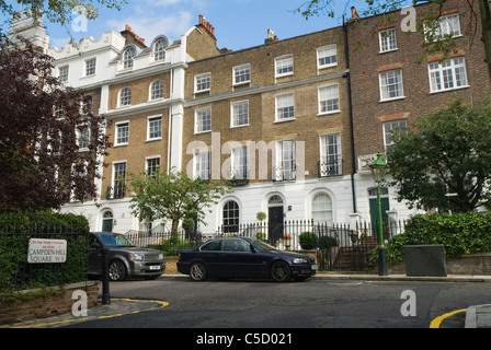 Campden Hill Square. Holland Park Royal Borough of Kensington and Chelsea. London UK - Stock Photo