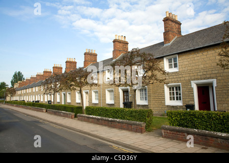 The Railway Village built by GWR to house workers in the 1840s, Swindon, England - Stock Photo