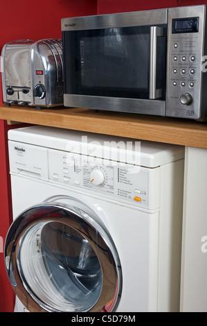Kitchen domestic appliances - Stock Photo