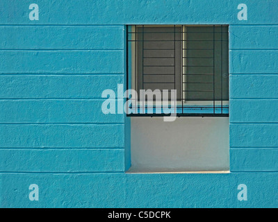 Close up of a newly constructed building - Stock Photo