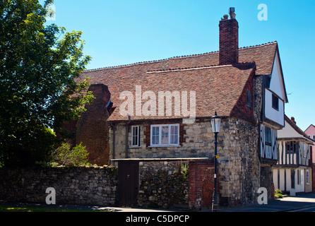 Arden's House in Faversham, Kent - Stock Photo