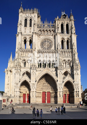 Amiens Notre Dame Cathedral, Picardy, France Stock Photo