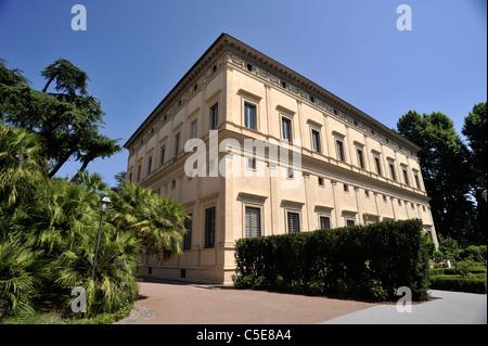 italy, rome, trastevere, villa farnesina (villa chigi) - Stock Photo