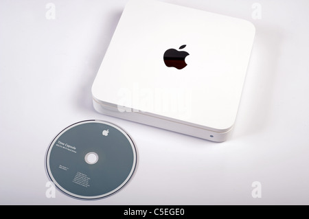 Apple Time Capsule external hard drive - Stock Photo