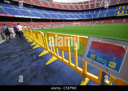 Camp Nou,  Barcelona football stadium Spain - Stock Photo