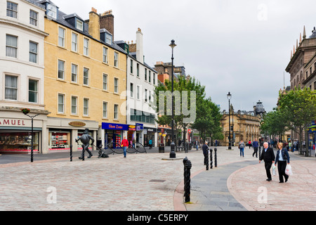 City Square in the town centre, Dundee, Central Lowlands, Scotland, UK - Stock Photo