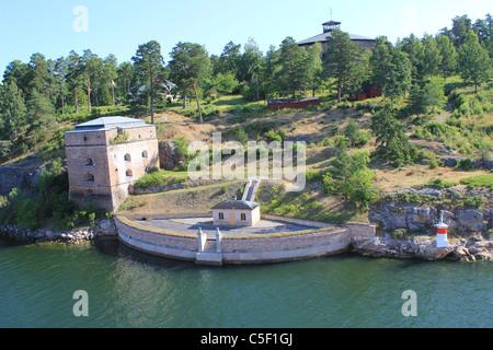 Coast of Stockholm, Sweden - Stock Photo