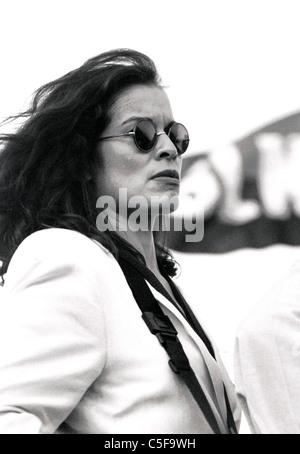Ms. Bianca Jagger, Rolling Stone Mick Jagger ex-partner and humanitarian ambassador - Stock Photo