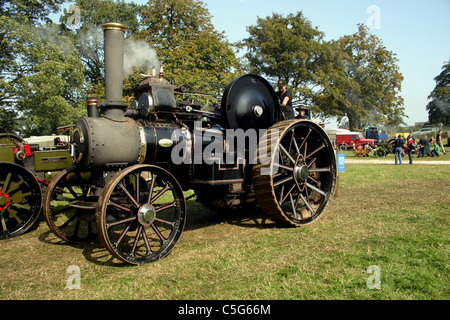 1917 Fowler R3 Road loco at YesterYear Rally 2006 at Hampton Malpas Cheshire England - Stock Photo