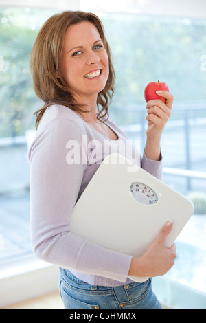 Weight loss and healthy eating - Stock Photo